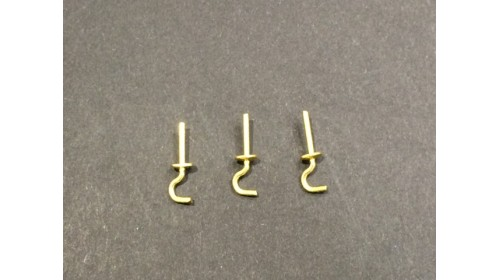 0004 - Straight Hooks - Pack of 50