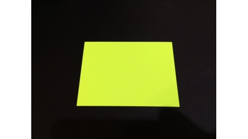 22573 - Yellow Day Glo Card