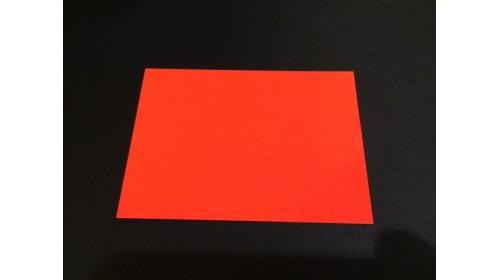 22574 - Orange Day Glo Card