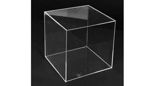 AC5200 - Clear Acrylic Display Cube - 20cm