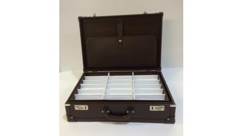ATT004 Leather Attache Case for 54 Frames