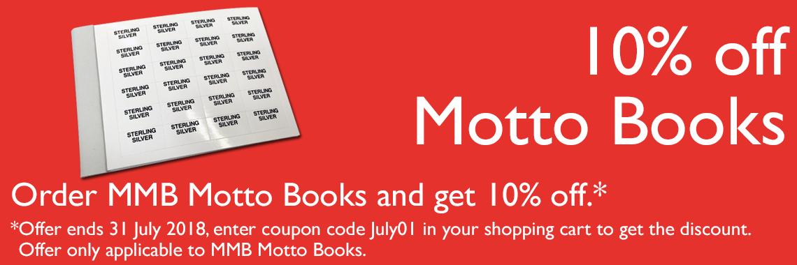 Motto Books 10%
