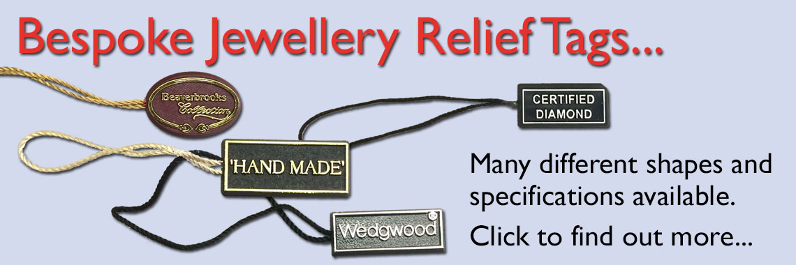 Jewellery Relief Tags