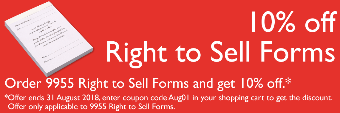 Right to Sell forms 10%