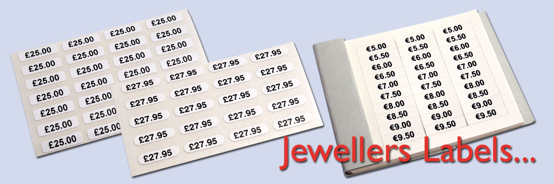 Jewellers Labels