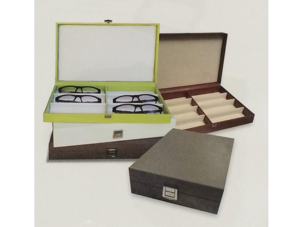d234f184484c1 CFE9SUN - Luxury Presentation   Storage Box for 9 Sunglass Frames