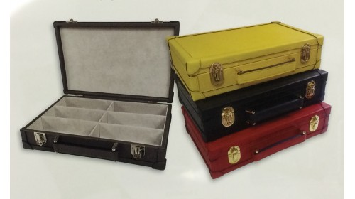 CPR6 - Real Leather Presentation / Storage Box for 6 Frames