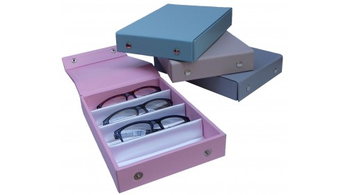 opticians trays boxes and cases
