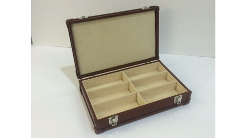 CPR6 - Real Leather Box for 6 Frames - only 1 left! Reduced to clear