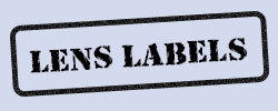 Opticians' Dummy Lens Labels