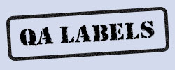 Quality Assurance Labels