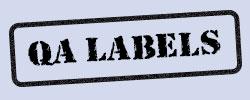 Quality Assurance Labels