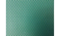 8426/C Giftwrap Roll: Green with gold stars