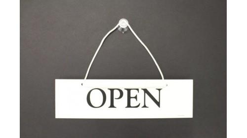 85560 Open / Closed Door Sign