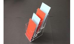 83458 DL Leaflet Holder - 4 Tier