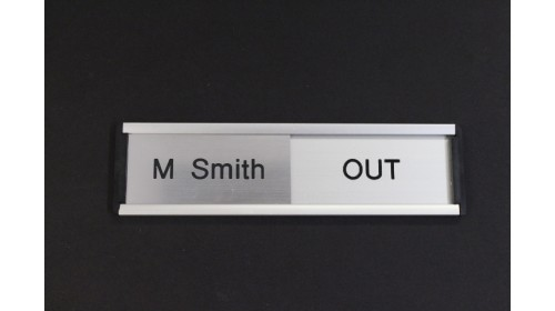 SLD001 In / Out Door Sign