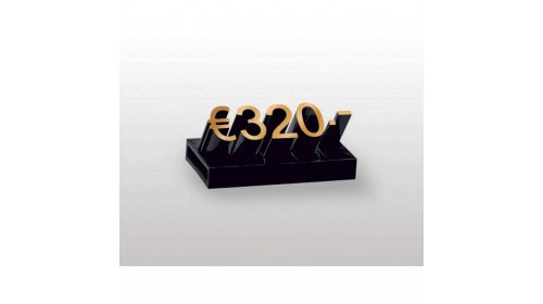19314/19614 Large Lumina Price Cubes. Set of 260 or 640 - 6 x 14mm