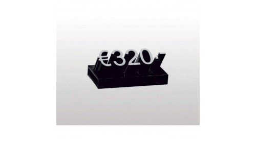 19109/19209 - Mini Lumina Price Cubes. Packed in 20s or 100s - 4 x 9mm