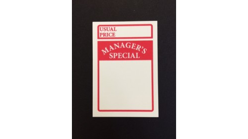 WSL9 Manager's Special Ticket