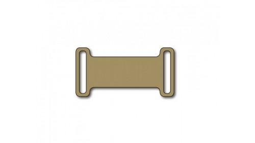 SO808S500 SILVER Slip-on plastic frame tag x 500