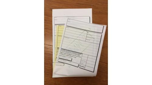 T765-3 NCR Repair Envelope x 1000