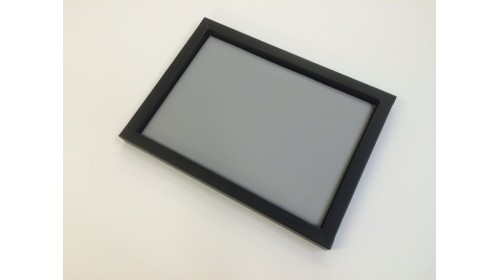 TRA005 - Luxury Faux Leather Black & Grey Tray