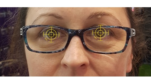 TIRO - Varifocals Pupil Centration Labels x 250