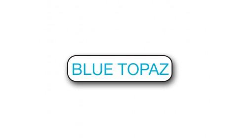 CM003 Blue Topaz - Foiled Strip of 20 Tickets