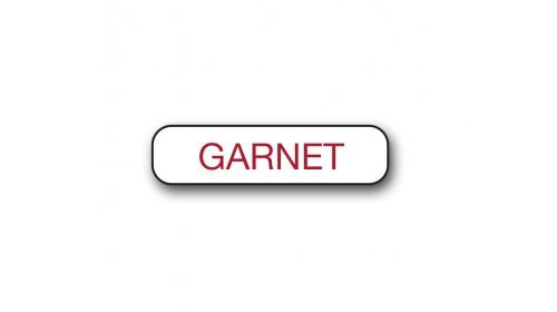 CM006 Garnet - Foiled Strip of 20 Tickets