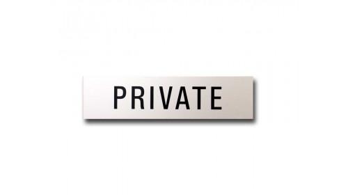 41969 Door Sign - 'PRIVATE'