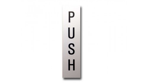 41971 Door Sign - 'PUSH'