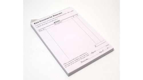 0027 Valuation Pads A4