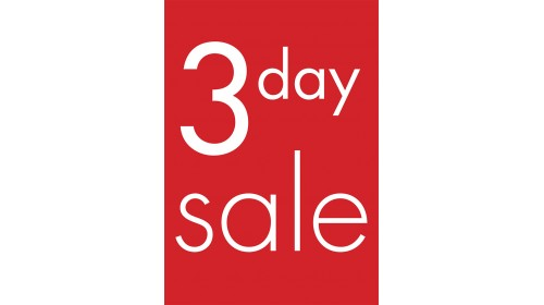 A4BL09 - A4 Back Lit Poster - 3 Day Sale
