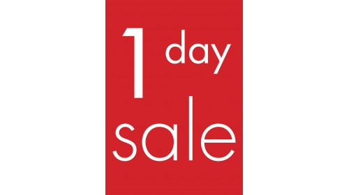 A4BL10 - A4 Back Lit Poster - 1 Day Sale