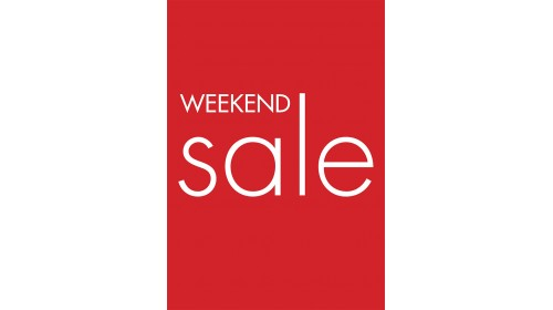 A4BL11 - A4 Back Lit Poster - Weekend Sale