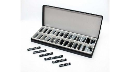 Norma 5x6mm alphabet price cube kits