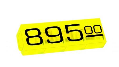 6510 - Medium fluo 7x9mm price cubes