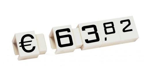7510 - Super 10 x 12mm price cubes