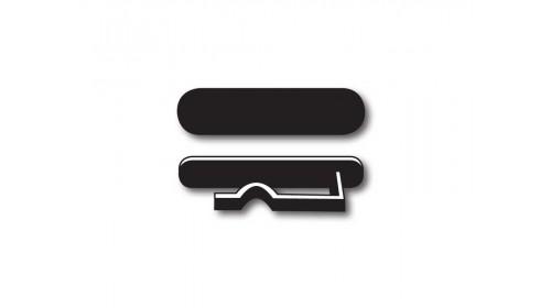 WC1 Watch Clip Price Ticket Carrier - Black