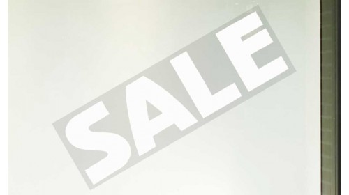 77999 Sale Banner - 'SALE' White Lettering
