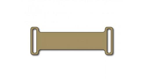SO812  Slip-on plastic frame tag