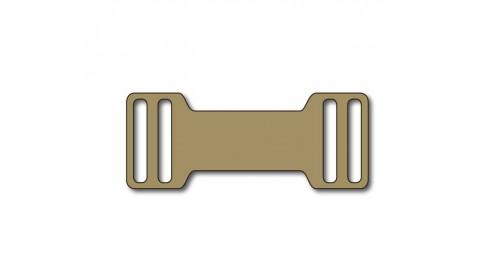 SO820  Slip-on plastic frame tag