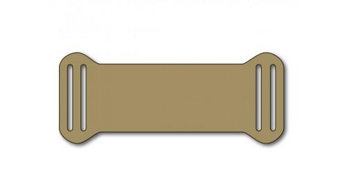 SO833 Slip-on plastic frame tag