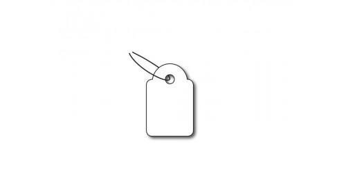 921 Strung Ticket - White Card 13x20mm