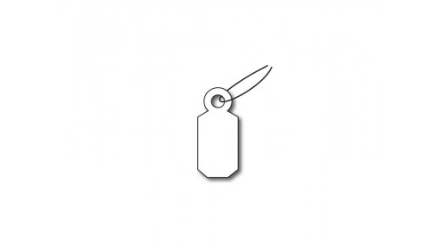 A32 Strung Ticket - White Card 9x19mm